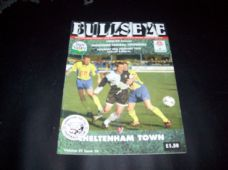 Hereford United v Cheltenham Town, 1998/99